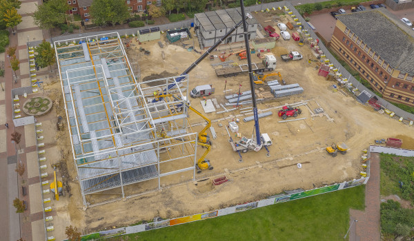 Time-lapse Photography of Construction